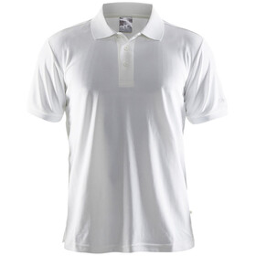 Craft Classic Polo Pique Shortsleeve Shirt Men white